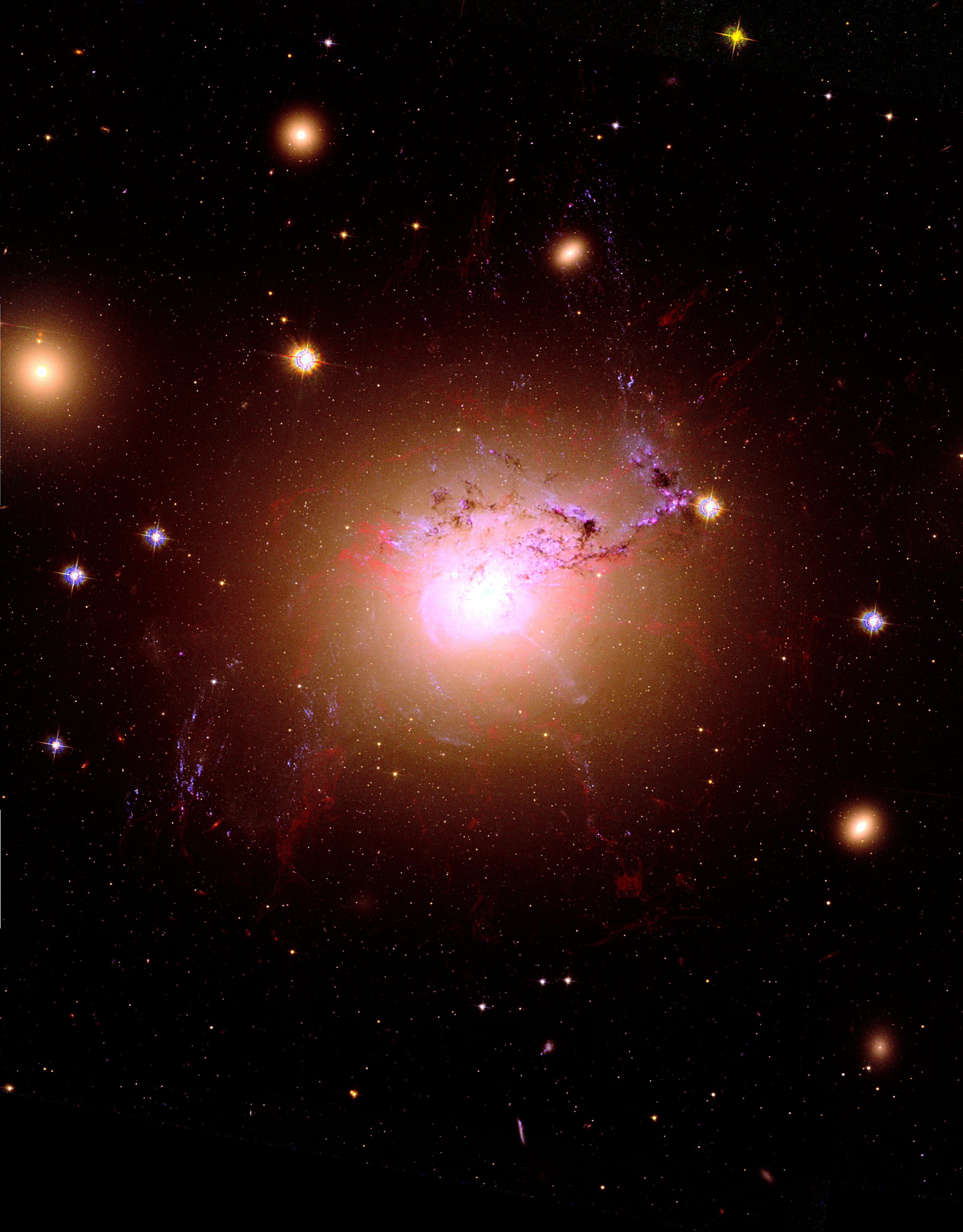 Blue giant stars